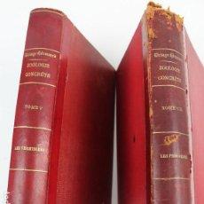Libros antiguos: L-167. TRAITÉ DE ZOOLOGIE CONCRÉTE. TOME V ET VIII. YVES DELAGE ET EDGARD HÉROUARD. PARIS 1897.. Lote 129267835