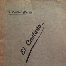 Libros antiguos: MEMORIA SOBRE EL CASTAÑO. LEÍDA PUBLICAMENTE POR [...] EN LA GRANJA EXPERIMENTAL DE BARCELONA.... Lote 123253991