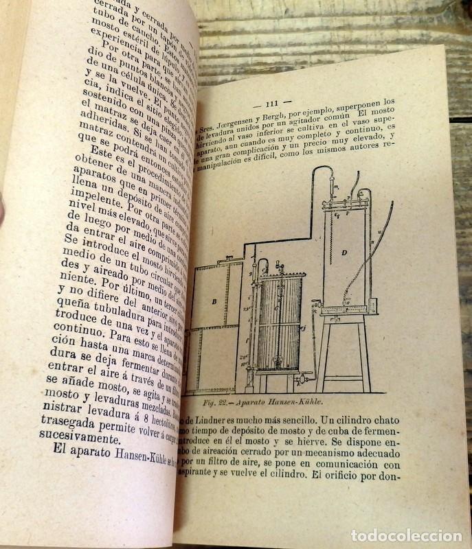 Libros antiguos: Antiguo libro Cerveza,sidra y perada,por D. Joaquín Olmedilla y Puig,año 1904 - Foto 4 - 129969219