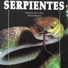 Libros antiguos: SERPIENTES. Lote 130202515