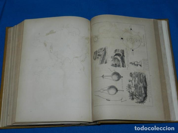 Libros antiguos: (MF) JOSE ESPINAL Y FUSTER - LA NATURALEZA Y EL HOMBRE , CUADRO FISICO, GEOLOGICO Y METEOROLOGICO - Foto 8 - 130302006