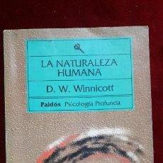 Libros antiguos: LA NATURALEZA HUMANA. 1993.. Lote 130242850