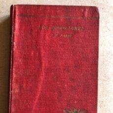 Libros antiguos: LOS AUXILIARES. J. H. FABRE. ED, CALPE 1920. CONVERSACIONES SOBRE ANIMALES ÚTILES EN AGRICULTURA.. Lote 130509954