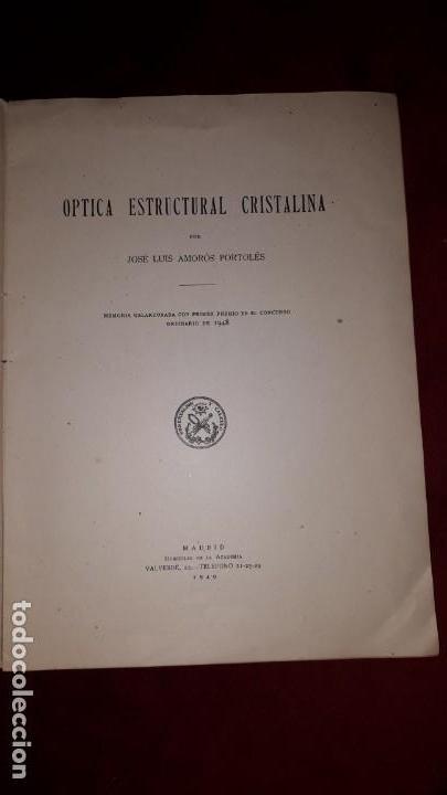Libros antiguos: REAL ACADEMIA DE CIENCIAS EXACTAS, FISICAS Y NATURALES DE MADRID. - Foto 3 - 130766824