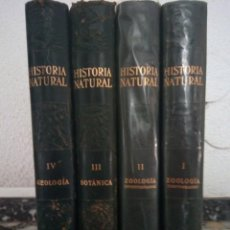 Libros antiguos: 4 TOMOS,HISTORIA NATURAL, GEOLOGIA, INSTITUTO GALLACH. Lote 130793228