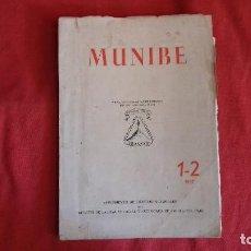 Libros antiguos: MUNIBE ARANZADI 1-2 AÑO 1957. Lote 130891632