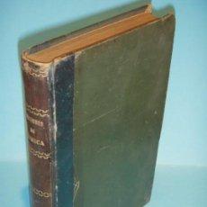 Libros antiguos: NOCIONES DE QUIMICA GENERAL - M. MASCAREÑAS / A. ESCOBAR - LIBRERIA DE PENELLA, 1901 (TAPA DURA). Lote 131162452