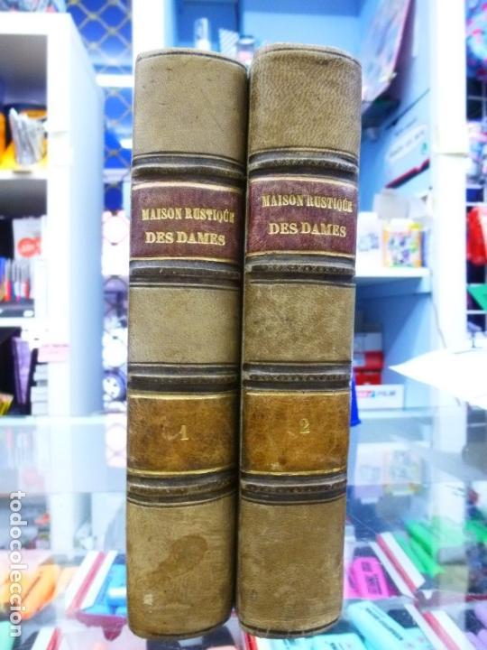 MAISON RUSTIQUE DES DAMES, MME. MILLET- ROBINET 2 TOMOS QUINTA EDICIÓN (1899) (Libros Antiguos, Raros y Curiosos - Ciencias, Manuales y Oficios - Bilogía y Botánica)