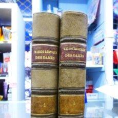 Libros antiguos: MAISON RUSTIQUE DES DAMES, MME. MILLET- ROBINET 2 TOMOS QUINTA EDICIÓN (1899). Lote 82882112