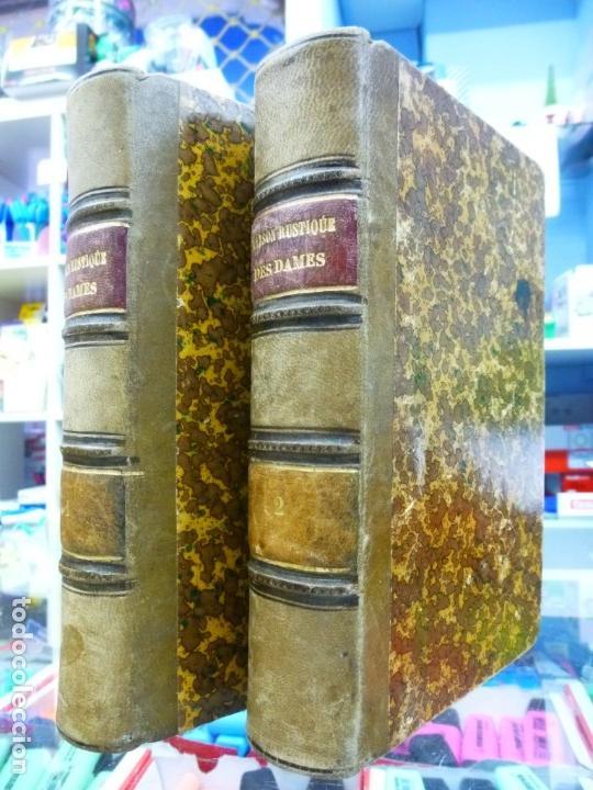 Libros antiguos: Maison Rustique des dames, Mme. Millet- Robinet 2 tomos quinta Edición (1899) - Foto 2 - 82882112