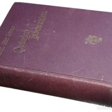 Libros antiguos: QUÍMICA INDUSTRIAL … / POR EL DR. OTTO LANGUE… BARCELONA : EDITORIAL MANUEL MARÍN, 1930. . Lote 131940430
