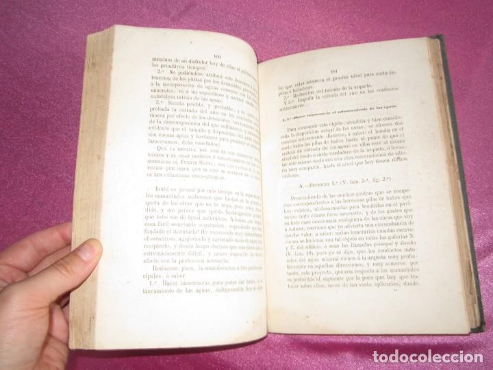 Libros antiguos: MONOGRAFIA DE LAS AGUAS Y BAÑOS MINERO MEDICINALES FUENTE SANTA DE BUYERES DE NAVA 1861 ASTURIAS - Foto 9 - 131992694