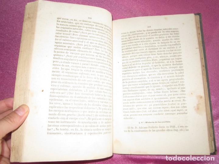 Libros antiguos: MONOGRAFIA DE LAS AGUAS Y BAÑOS MINERO MEDICINALES FUENTE SANTA DE BUYERES DE NAVA 1861 ASTURIAS - Foto 10 - 131992694