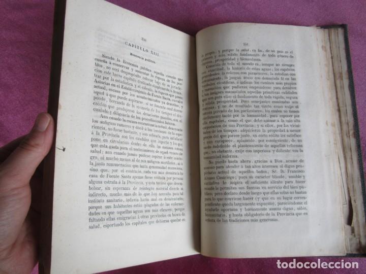 Libros antiguos: MONOGRAFIA DE LAS AGUAS Y BAÑOS MINERO MEDICINALES FUENTE SANTA DE BUYERES DE NAVA 1861 ASTURIAS - Foto 13 - 131992694