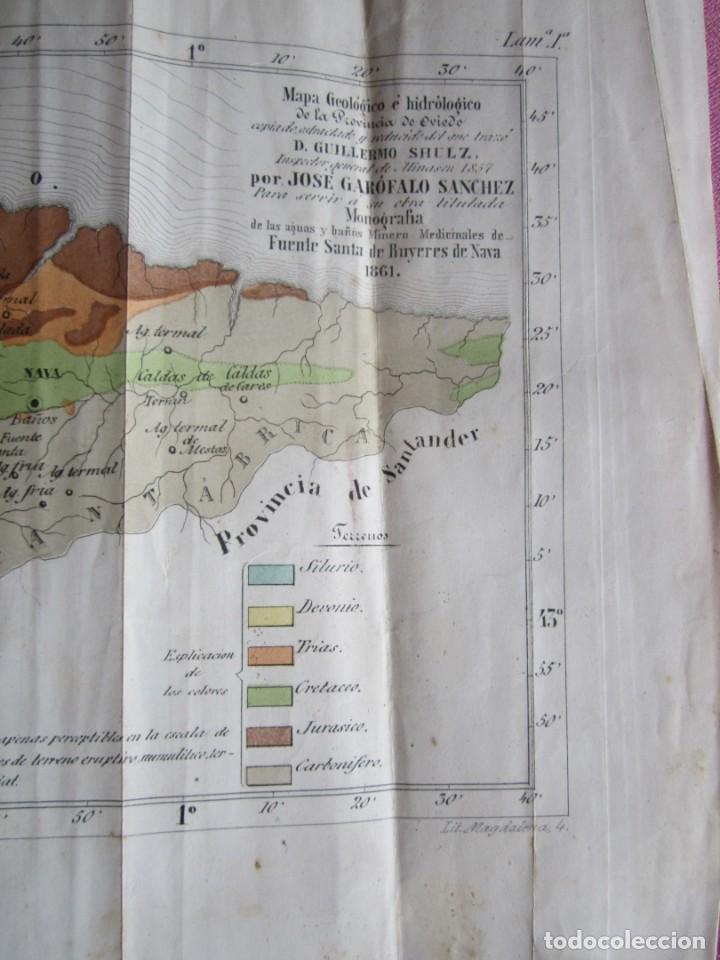 Libros antiguos: MONOGRAFIA DE LAS AGUAS Y BAÑOS MINERO MEDICINALES FUENTE SANTA DE BUYERES DE NAVA 1861 ASTURIAS - Foto 17 - 131992694
