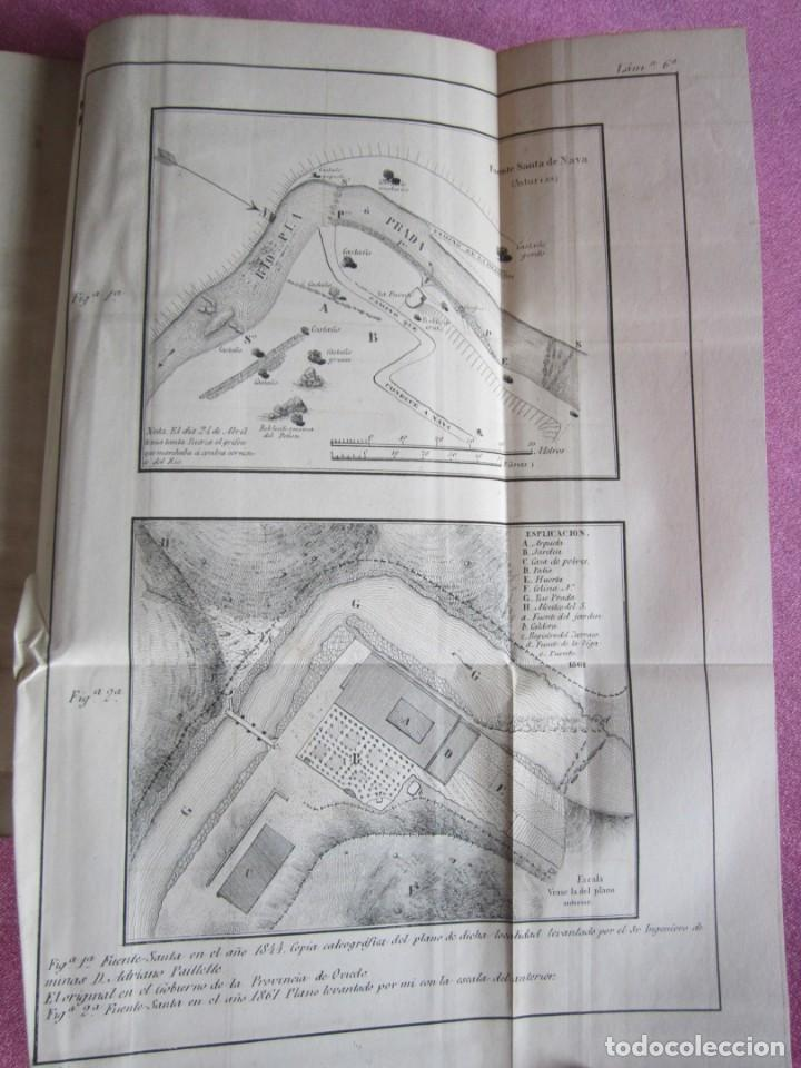 Libros antiguos: MONOGRAFIA DE LAS AGUAS Y BAÑOS MINERO MEDICINALES FUENTE SANTA DE BUYERES DE NAVA 1861 ASTURIAS - Foto 22 - 131992694