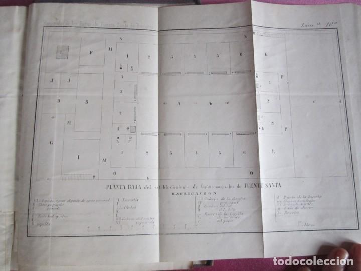 Libros antiguos: MONOGRAFIA DE LAS AGUAS Y BAÑOS MINERO MEDICINALES FUENTE SANTA DE BUYERES DE NAVA 1861 ASTURIAS - Foto 25 - 131992694