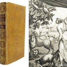 Libros antiguos: 1803 - HISTORIA NATURAL EN FRANCÉS CON 30 GRABADOS - ASTRONOMÍA, RAZAS, ANIMALES, PLANTAS. Lote 132073786
