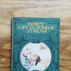 Libros antiguos: INSECT LIFE IN POND AND STREAM - DUNCAN, F. MARTIN, 1917. Lote 131246771
