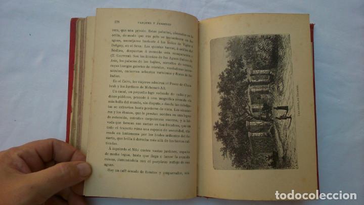Libros antiguos: Parques y jardines. Biblioteca de maravillas. 1886 - Foto 8 - 132828186