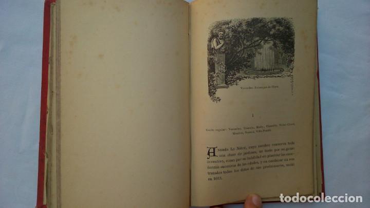 Libros antiguos: Parques y jardines. Biblioteca de maravillas. 1886 - Foto 10 - 132828186