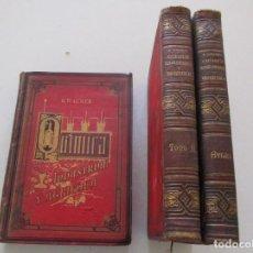Libros antiguos: QUÍMICA (INDUSTRIAL Y AGRÍCOLA). TRATADO TEÓRICO PRÁCTICO. TRES TOMOS. RM87837. Lote 133565114