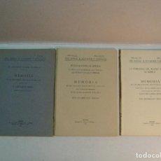 Libros antiguos: ANFITEATRO ROMANO DE MÉRIDA: MEMORIAS AÑOS 1919, 1929 Y 1932. Lote 133983662
