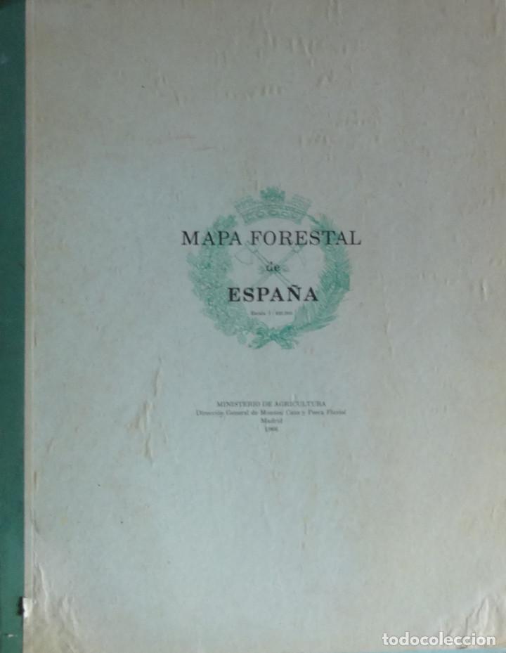 Mapa Forestal De Espana Escala 1 400 000 Comprar Libros