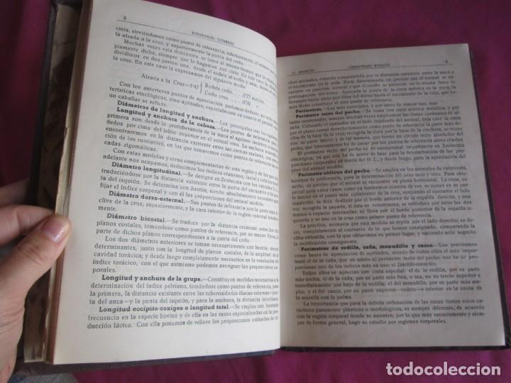 Libros antiguos: ZOOTECNIA ESPECIAL. ETNOLOGIA COMPENDIADA. GUMERSINDO APARICIO SANCHEZ - Foto 6 - 135309382
