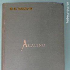 Libros antiguos: MANUAL DE ELECTRICIDAD PRÁCTICA POR EUGENIO AGACINO Y MARTÍNEZ. DÉCIMA QUINTA EDICIÓN. CÁDIZ 1906. Lote 135328182