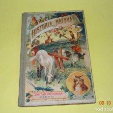 Libros antiguos: ANTIGUA HISTORIA NATURAL DE SUCESORES DE HERNANDO DEL AÑO 1923. Lote 135950346