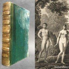 Libros antiguos: 1819 - BUFFON - HISTORIA NATURAL - EL HOMBRE - RAZAS HUMANAS - DEMOGRAFIA - . Lote 136011826
