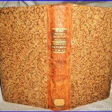 Libros antiguos: AÑO 1798: HISTORIA NATURAL PARA USO DE LA ESCUELA MILITAR: ANFIBIOS, REPTILES, VEGETALES,... S.XVIII. Lote 136041046