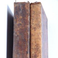 Libros antiguos: COMPENDIO DE MATEMÁTICAS PURAS Y MISTAS – TOMO I Y II - MADRID 1840. Lote 136156682