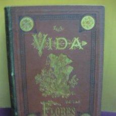 Libros antiguos: LA VIDA DE LAS FLORES. ALFONSO KARR Y TAXILE DELORD. TOMO II. TIPO-LITOG.CELESTINO VERDAGUER 1878.. Lote 136477006