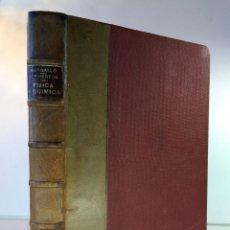 Libros antiguos: ELEMENTOS DE FÍSICA Y QUÍMICA. BARGALLÓ, MODESTO. EDICIONES SARDÁ, GUADALAJARA, 1936. Lote 136490950