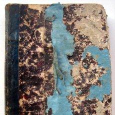 Libros antiguos: TABLAS DE LOGARITMOS DE LOS NÚMEROS ENTEROS, DE M. J. DE LA LANDE. EDICIÓN AÑO 1877. Lote 136776638