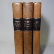 Libros antiguos: MARAVILLAS DE LA VIDA ANIMAL - 3 TOMOS - DIR: J. A. HAMMERTON - ED. JOAQUIN GIL - 1930. Lote 137461910