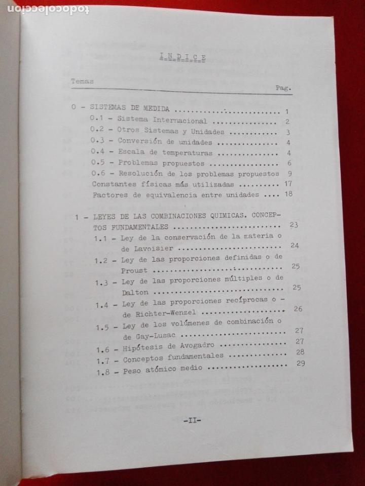 Libros antiguos: LIBRO-QUÍMICA GENERAL-PROBLEMAS RESUELTOS-2ªREIMPRESIÓN-1987-GREGORIO ANTOLÍN GIRALDO-VER FOTOS - Foto 8 - 137533274
