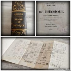 Libros antiguos: TRATADO DE FÍSICA - TRAITÉ DE PHYSIQUE - PINAULT (TOMO 2, 1839), CON LÁMINAS DESPLEGABLES. Lote 138000438