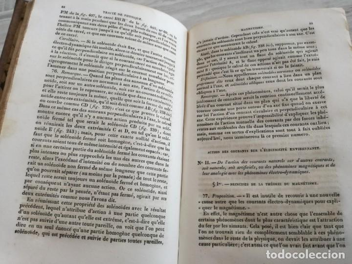 Libros antiguos: TRATADO DE FÍSICA - TRAITÉ DE PHYSIQUE - PINAULT (TOMO 2, 1839), CON LÁMINAS DESPLEGABLES - Foto 9 - 138000438