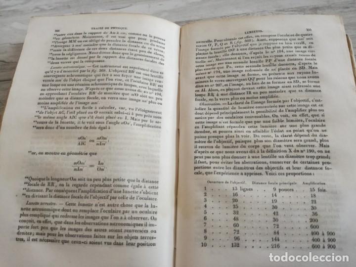 Libros antiguos: TRATADO DE FÍSICA - TRAITÉ DE PHYSIQUE - PINAULT (TOMO 2, 1839), CON LÁMINAS DESPLEGABLES - Foto 10 - 138000438