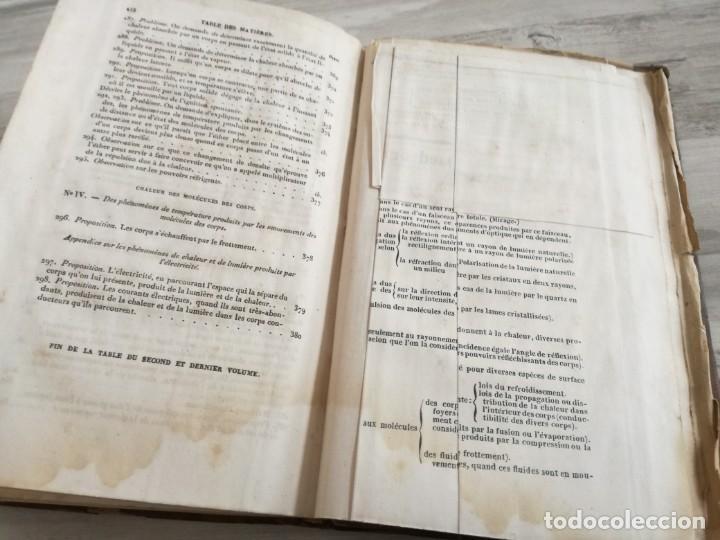 Libros antiguos: TRATADO DE FÍSICA - TRAITÉ DE PHYSIQUE - PINAULT (TOMO 2, 1839), CON LÁMINAS DESPLEGABLES - Foto 12 - 138000438