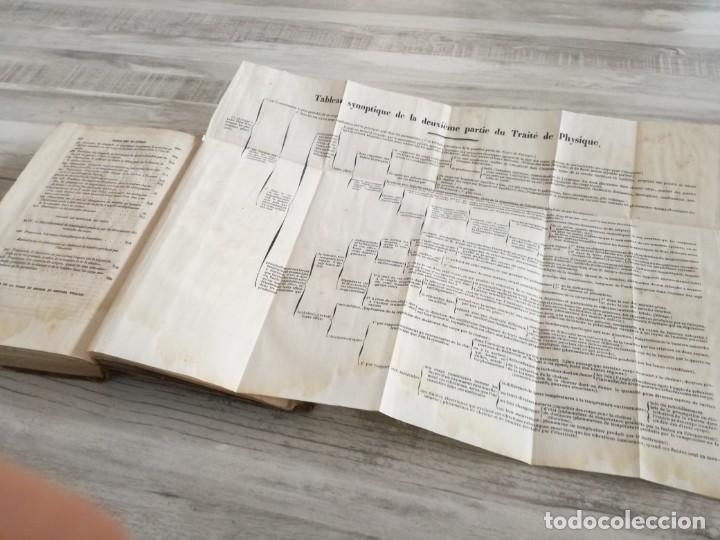 Libros antiguos: TRATADO DE FÍSICA - TRAITÉ DE PHYSIQUE - PINAULT (TOMO 2, 1839), CON LÁMINAS DESPLEGABLES - Foto 13 - 138000438