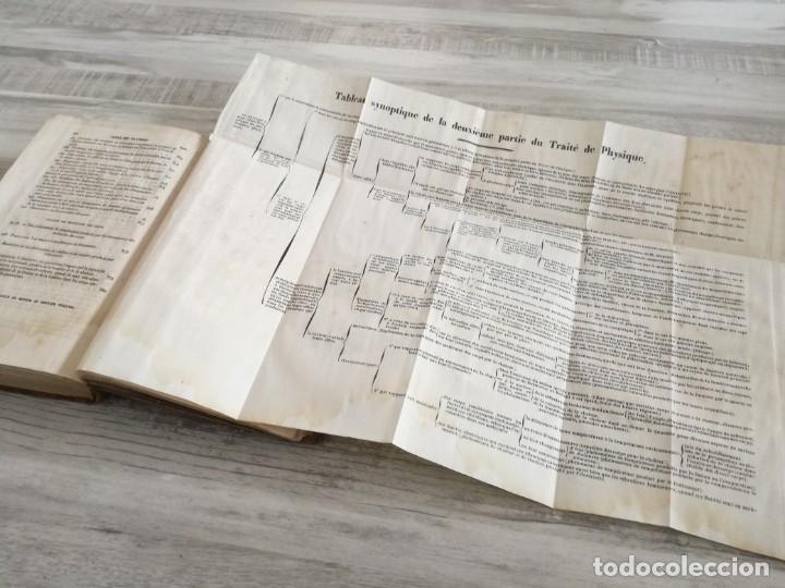 Libros antiguos: TRATADO DE FÍSICA - TRAITÉ DE PHYSIQUE - PINAULT (TOMO 2, 1839), CON LÁMINAS DESPLEGABLES - Foto 14 - 138000438