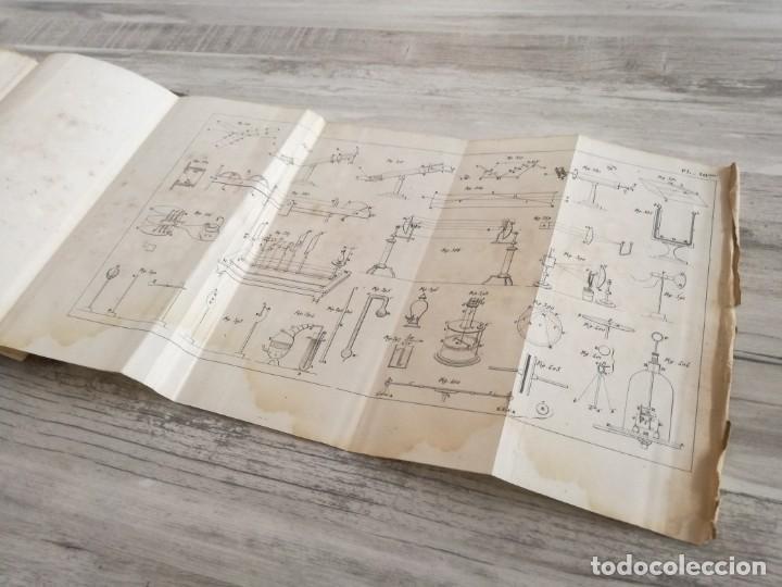 Libros antiguos: TRATADO DE FÍSICA - TRAITÉ DE PHYSIQUE - PINAULT (TOMO 2, 1839), CON LÁMINAS DESPLEGABLES - Foto 19 - 138000438