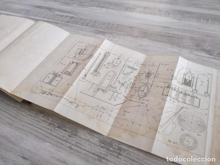 Libros antiguos: TRATADO DE FÍSICA - TRAITÉ DE PHYSIQUE - PINAULT (TOMO 2, 1839), CON LÁMINAS DESPLEGABLES - Foto 20 - 138000438