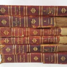 Libros antiguos: LA CREACIÓN. HISTORIA NATURAL. ZOOLOGÍA Ó REINO ANIMAL. 6 TOMOS. 1880/1885. . Lote 138109022