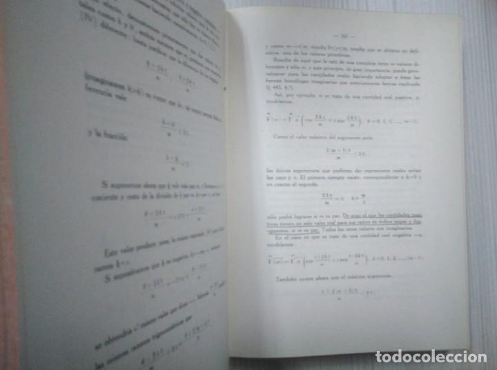 Libros antiguos: Elementos de análisis matemático y sus aplicaciones. Libro segundo. Félix Alonso-Misol. 1935 - Foto 4 - 138749550