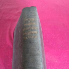 Libros antiguos: MINUTES OF PROCEEDINGS OF THE INSTITUTION OF CIVIL ENGINEERS CXXVIII LONDON 1897 INGENIERIA. Lote 139155014